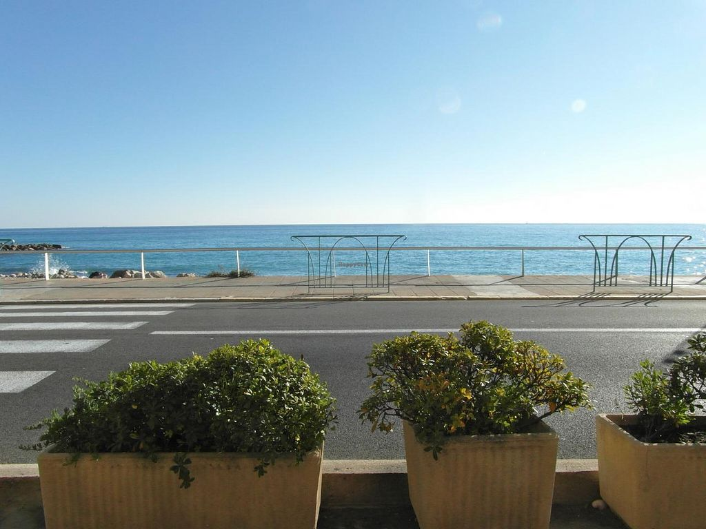 """Photo of Loving Hut - Menton  by <a href=""""/members/profile/Pamina"""">Pamina</a> <br/>View from Loving Hut, Menton <br/> January 5, 2015  - <a href='/contact/abuse/image/23603/89541'>Report</a>"""