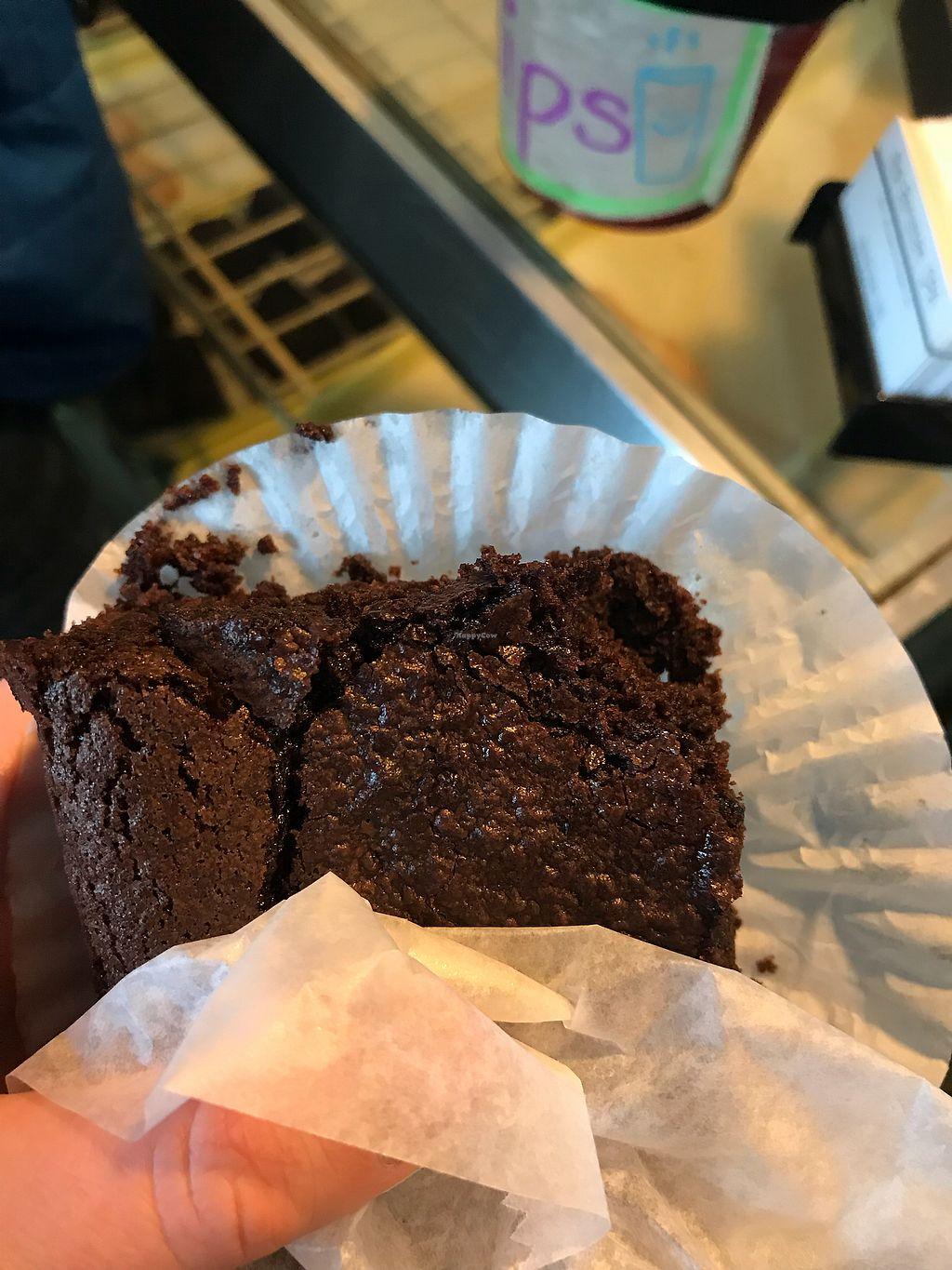 "Photo of Fiore's Italian Bakery  by <a href=""/members/profile/EC5"">EC5</a> <br/>Vegan Brownie <br/> January 21, 2018  - <a href='/contact/abuse/image/23640/349547'>Report</a>"
