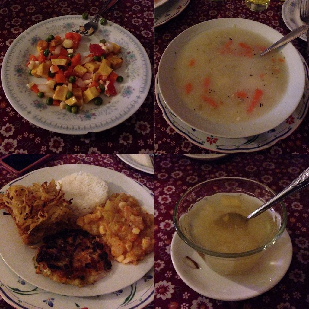 """Photo of Mandala  by <a href=""""/members/profile/pistol_pete"""">pistol_pete</a> <br/>The set menu for s/ 10. Small starter, soup, main, and desert <br/> November 26, 2015  - <a href='/contact/abuse/image/23647/126234'>Report</a>"""