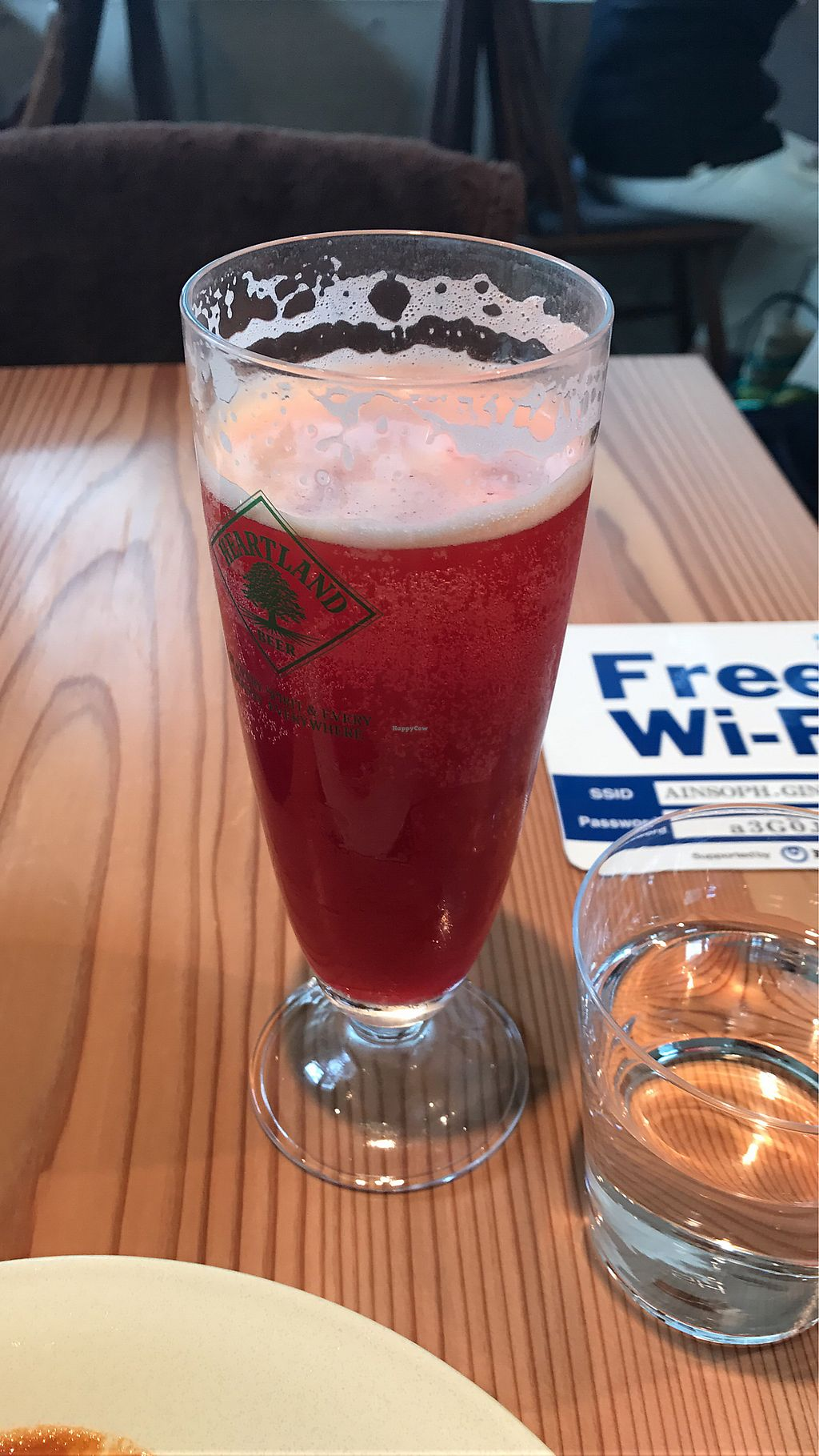 """Photo of Ain Soph.Ginza  by <a href=""""/members/profile/swiss_traveler"""">swiss_traveler</a> <br/>Cold Press Beer - Bbets, carrots, kale, chinese cabbage, cabbage, celery, seasonal citrus and apple <br/> November 1, 2017  - <a href='/contact/abuse/image/23681/320682'>Report</a>"""