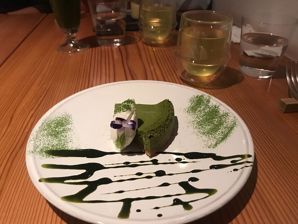 """Photo of Ain Soph.Ginza  by <a href=""""/members/profile/DTS"""">DTS</a> <br/>Matcha cheesecake  <br/> December 1, 2017  - <a href='/contact/abuse/image/23681/331101'>Report</a>"""