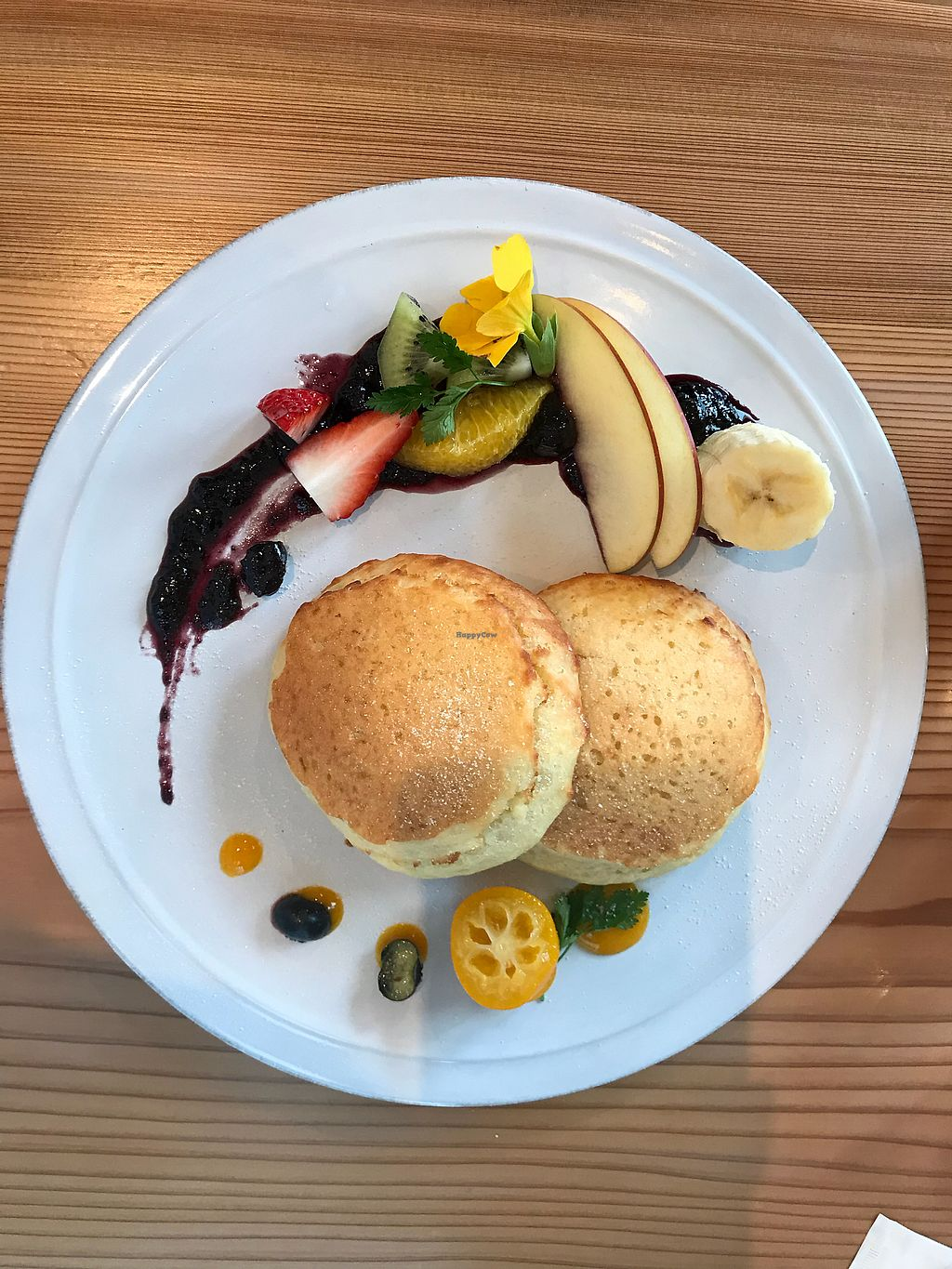 """Photo of Ain Soph.Ginza  by <a href=""""/members/profile/Sairrr"""">Sairrr</a> <br/>Pancakes (toppings come on a seperate plate)  <br/> March 20, 2018  - <a href='/contact/abuse/image/23681/373212'>Report</a>"""