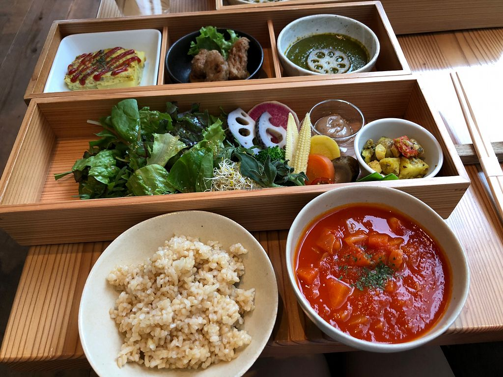 """Photo of Ain Soph.Ginza  by <a href=""""/members/profile/SamanthaIngridHo"""">SamanthaIngridHo</a> <br/>Vegan bento <br/> April 20, 2018  - <a href='/contact/abuse/image/23681/388694'>Report</a>"""