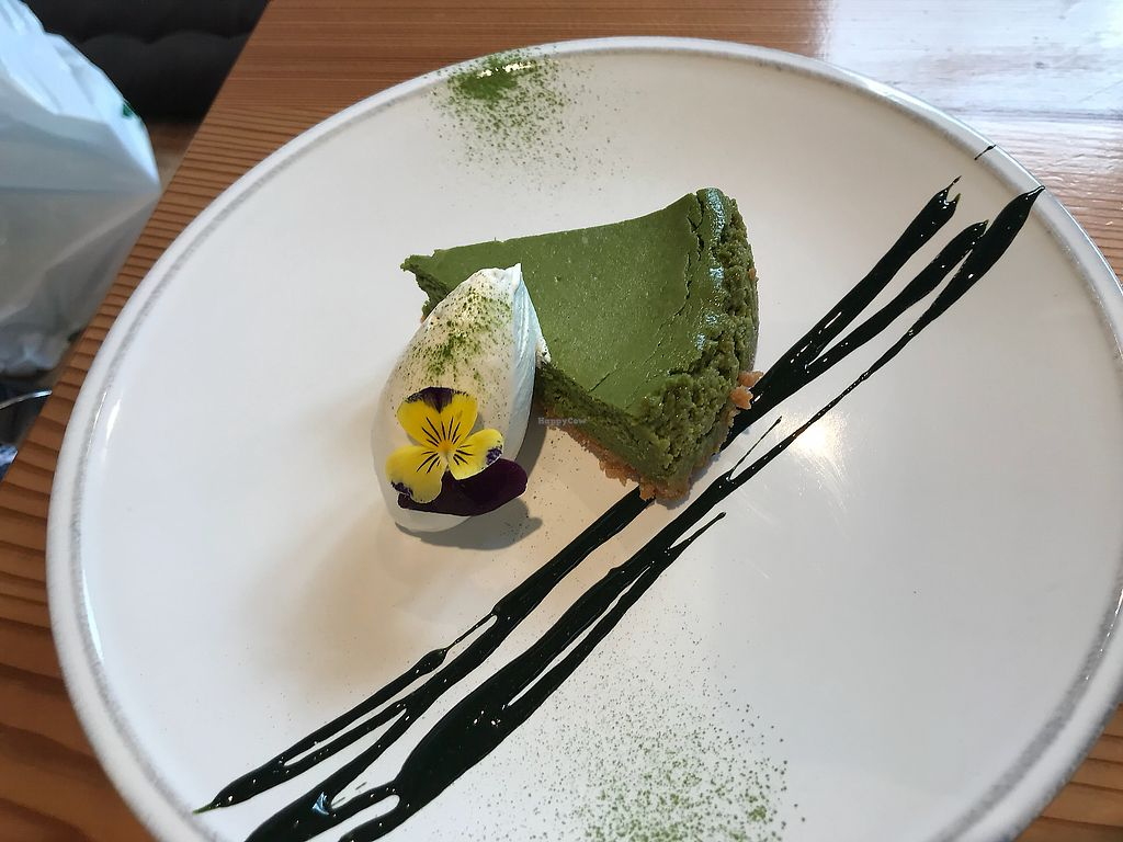 """Photo of Ain Soph.Ginza  by <a href=""""/members/profile/Emilieomeara"""">Emilieomeara</a> <br/>Matcha cheesecake <br/> April 27, 2018  - <a href='/contact/abuse/image/23681/397497'>Report</a>"""