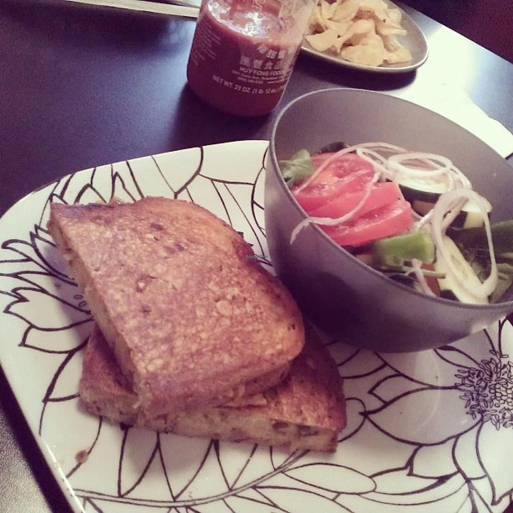 """Photo of The Third Place Cafe  by <a href=""""/members/profile/meredith"""">meredith</a> <br/>Vegan Reuben <br/> January 8, 2014  - <a href='/contact/abuse/image/2369/62121'>Report</a>"""