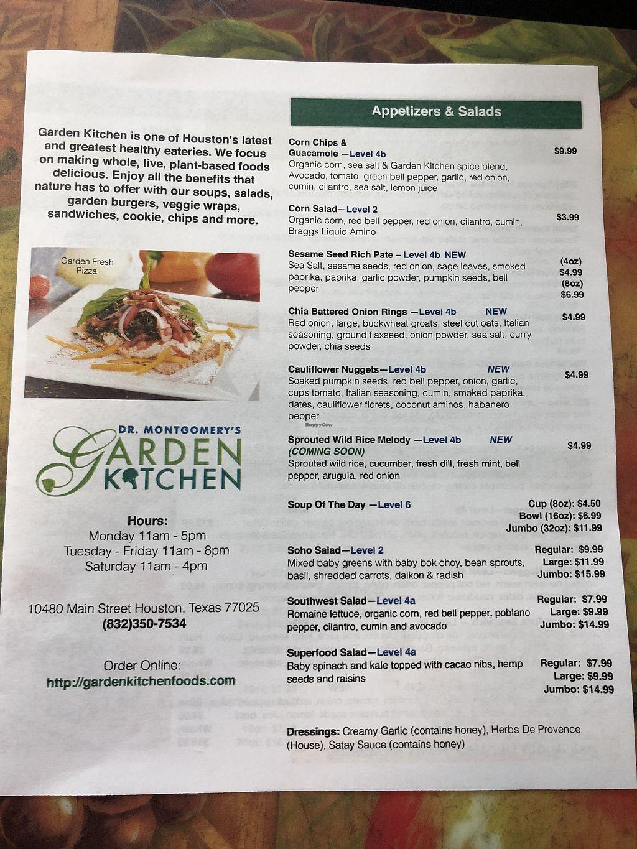 The Garden Kitchen - Houston Texas - HappyCow