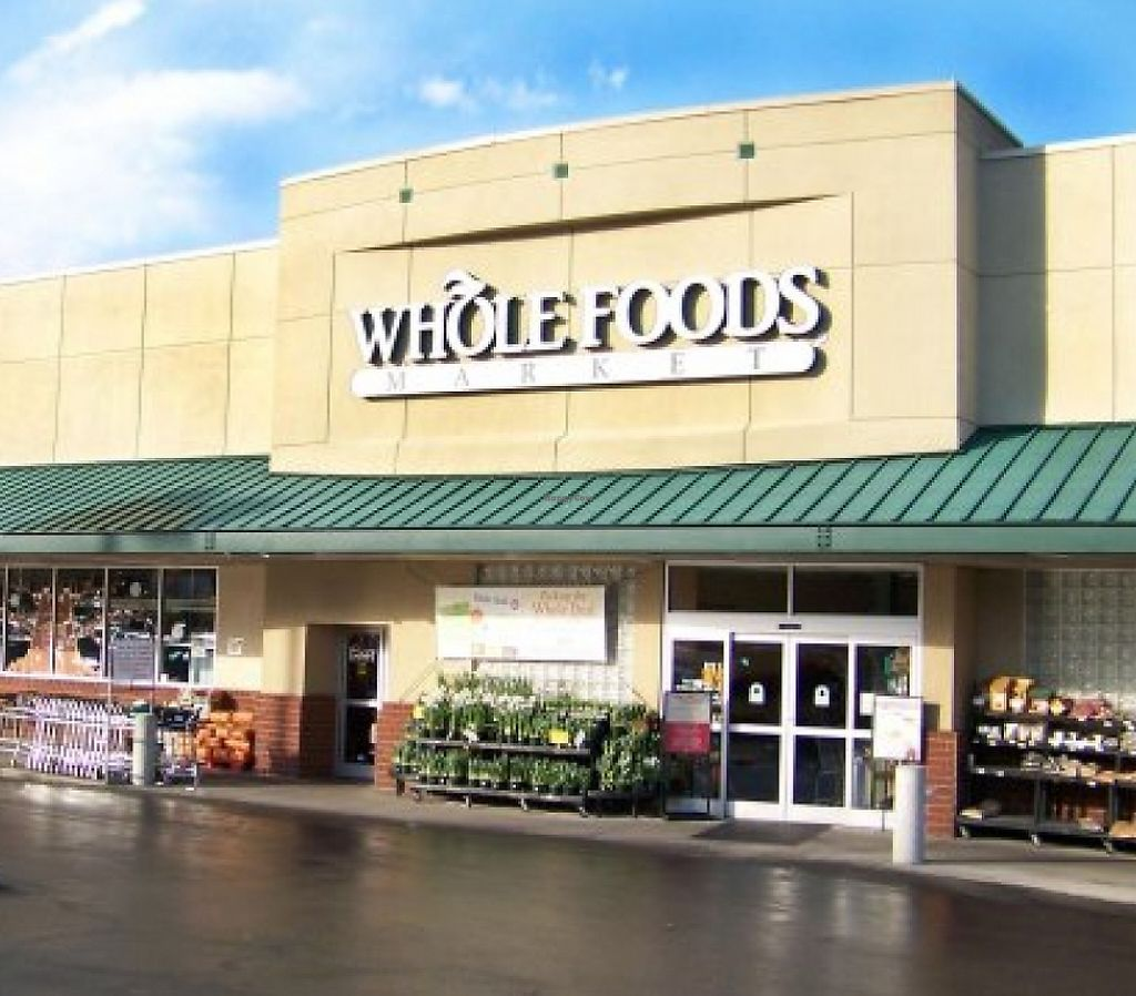 """Photo of Whole Foods Market - Wade Ave  by <a href=""""/members/profile/veganlove777"""">veganlove777</a> <br/>Outside of Whole Foods on Wade Ave <br/> November 27, 2015  - <a href='/contact/abuse/image/2374/215170'>Report</a>"""