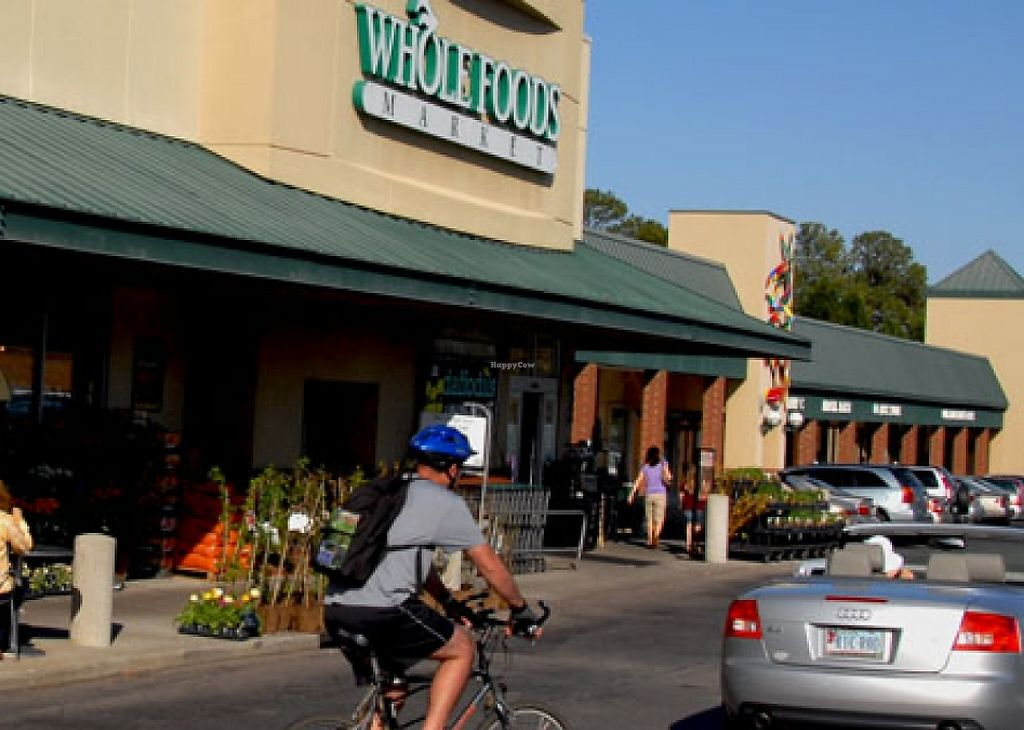 """Photo of Whole Foods Market - Wade Ave  by <a href=""""/members/profile/veganlove777"""">veganlove777</a> <br/>Outdoor seating at Whole Foods on Wade Ave <br/> November 27, 2015  - <a href='/contact/abuse/image/2374/215171'>Report</a>"""