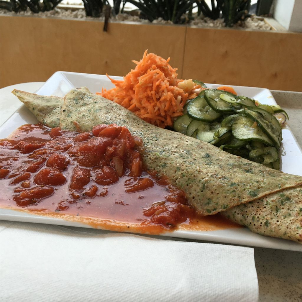 "Photo of BioWay - Waly Jagiellonskie  by <a href=""/members/profile/namdhyan"">namdhyan</a> <br/>Spinach filled crepe <br/> July 31, 2016  - <a href='/contact/abuse/image/23756/163783'>Report</a>"