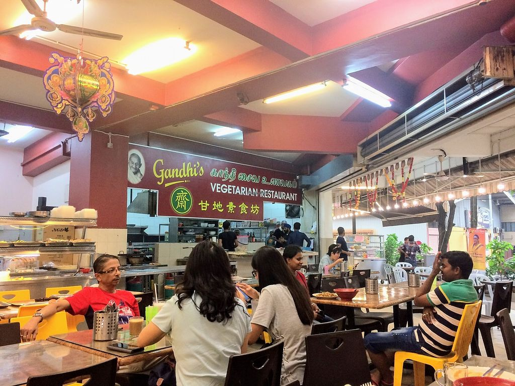 """Photo of Gandhi's Vegetarian Restaurant  by <a href=""""/members/profile/LaurenceMontreuil"""">LaurenceMontreuil</a> <br/>Inside <br/> January 31, 2018  - <a href='/contact/abuse/image/23773/353120'>Report</a>"""