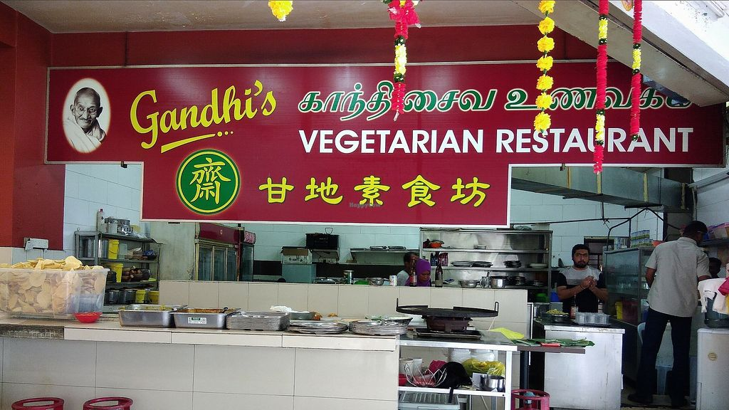 """Photo of Gandhi's Vegetarian Restaurant  by <a href=""""/members/profile/ChoyYuen"""">ChoyYuen</a> <br/>Counter for freshly made chapati <br/> April 9, 2018  - <a href='/contact/abuse/image/23773/382920'>Report</a>"""