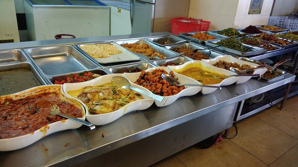 """Photo of Gandhi's Vegetarian Restaurant  by <a href=""""/members/profile/ChoyYuen"""">ChoyYuen</a> <br/>Variety of Indian dishes at their buffet counter, especially during weekdays, lunch time <br/> April 11, 2018  - <a href='/contact/abuse/image/23773/383875'>Report</a>"""