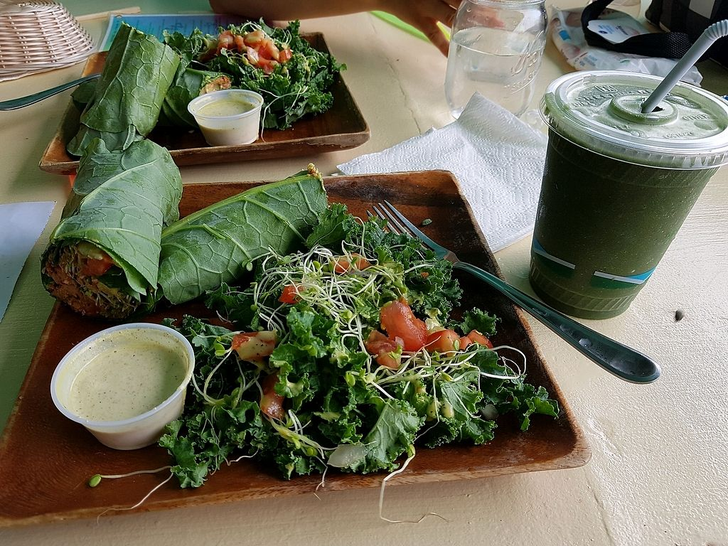"""Photo of Rainbow Living Foods  by <a href=""""/members/profile/vaz"""">vaz</a> <br/>veggie wrap <br/> December 1, 2017  - <a href='/contact/abuse/image/23777/331200'>Report</a>"""
