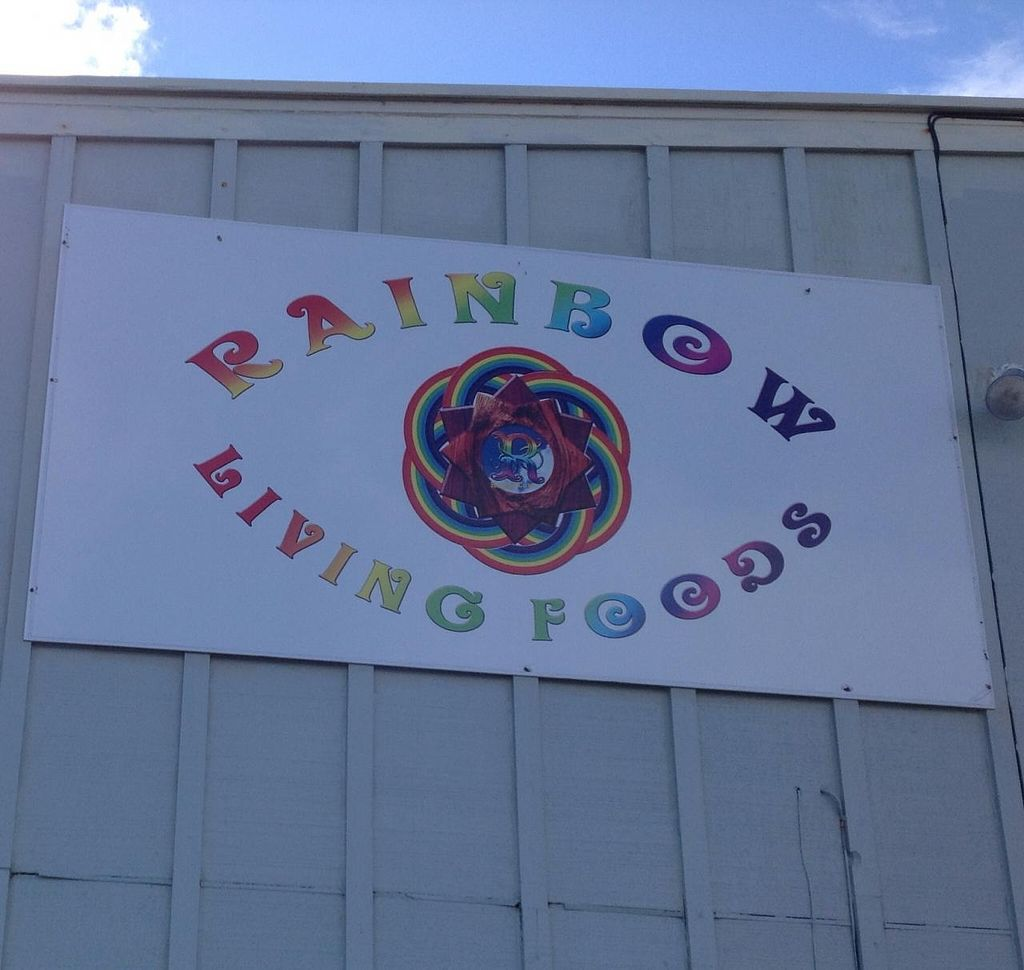 """Photo of Rainbow Living Foods  by <a href=""""/members/profile/FlorenceVincent"""">FlorenceVincent</a> <br/>Side sign  <br/> January 12, 2014  - <a href='/contact/abuse/image/23777/62332'>Report</a>"""