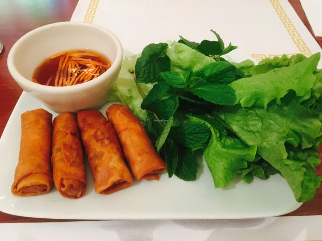 """Photo of Thuyen Vien  by <a href=""""/members/profile/amymylove"""">amymylove</a> <br/>crispy spring rolls - best ever <br/> February 5, 2016  - <a href='/contact/abuse/image/23785/135092'>Report</a>"""