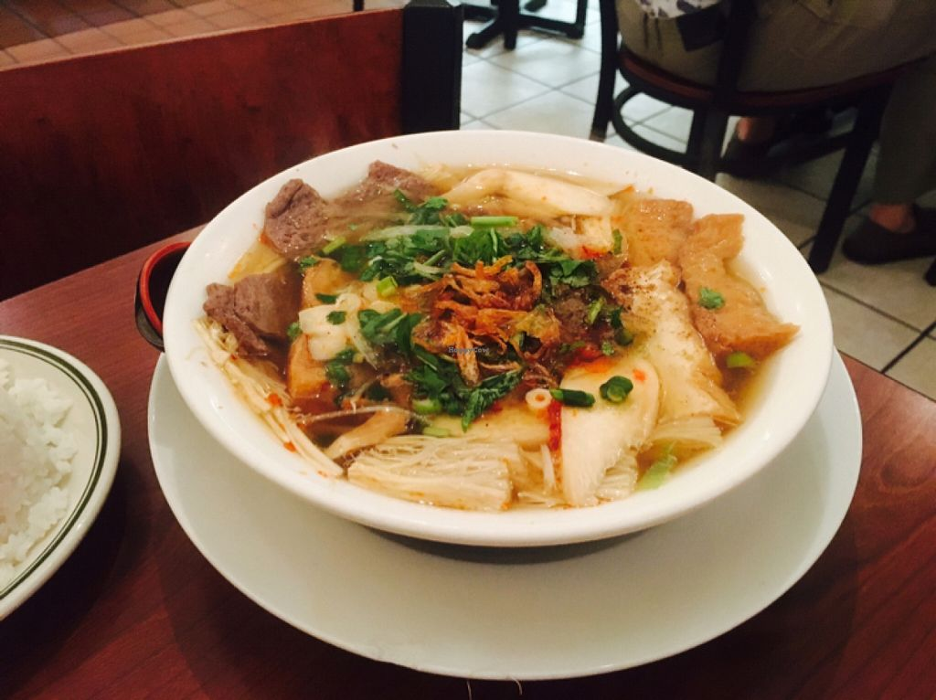 """Photo of Thuyen Vien  by <a href=""""/members/profile/amymylove"""">amymylove</a> <br/>Royal Noodle Soup - Nice and spicy did not care for the shrooms in it <br/> February 5, 2016  - <a href='/contact/abuse/image/23785/135100'>Report</a>"""