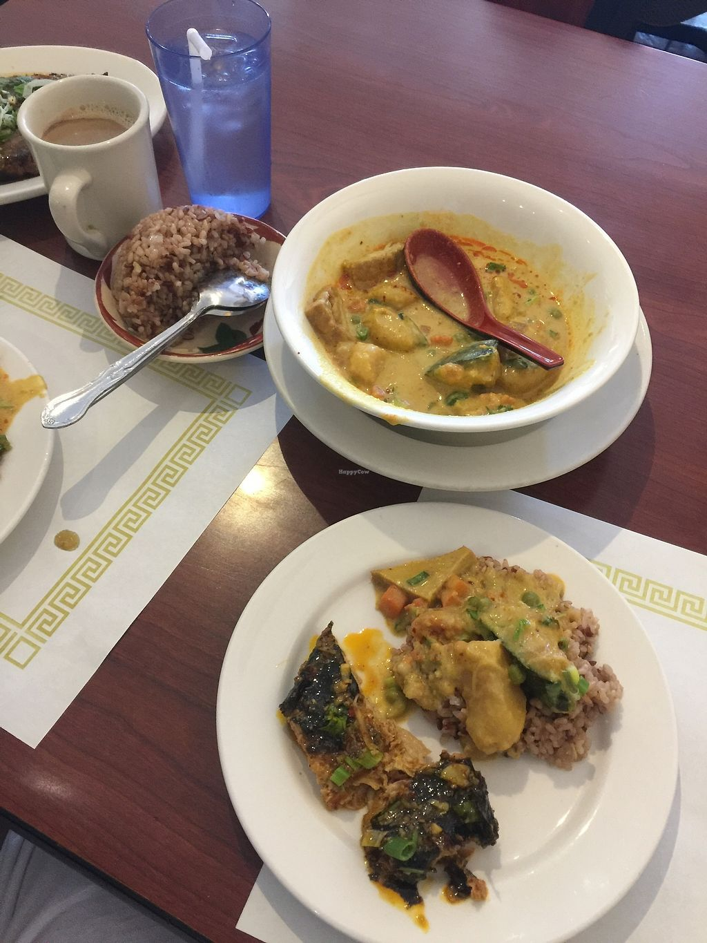 """Photo of Thuyen Vien  by <a href=""""/members/profile/vegansuncake"""">vegansuncake</a> <br/>Yes, the crispy fish actually is good and not too rubbery like many vegan fish. Wonderful flavor.  The pumpkin curry was also lovely <br/> January 13, 2018  - <a href='/contact/abuse/image/23785/346008'>Report</a>"""