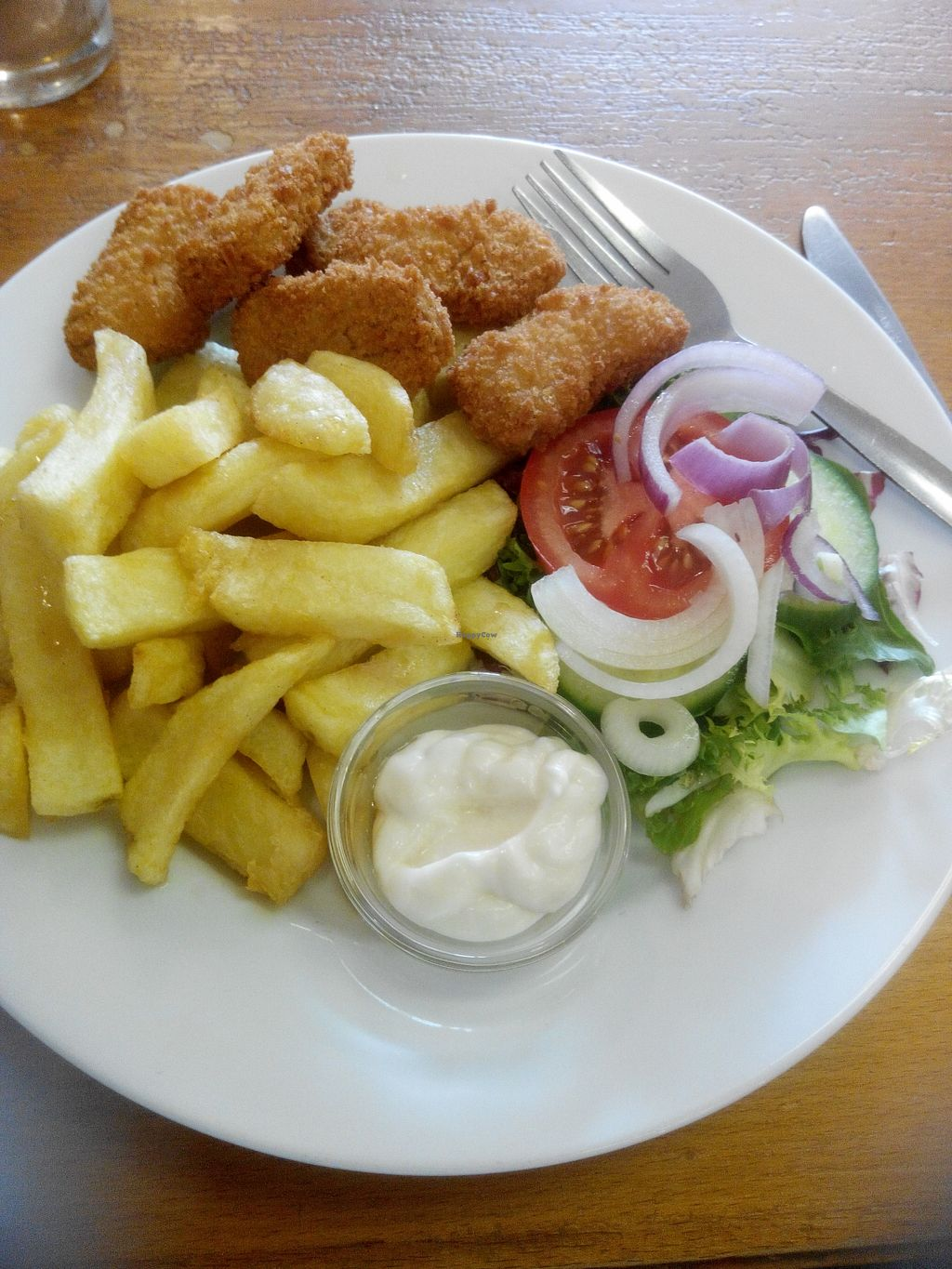 """Photo of Barnacles  by <a href=""""/members/profile/RJS"""">RJS</a> <br/>Chicken Style Nuggets and Chips <br/> November 1, 2015  - <a href='/contact/abuse/image/23788/123435'>Report</a>"""