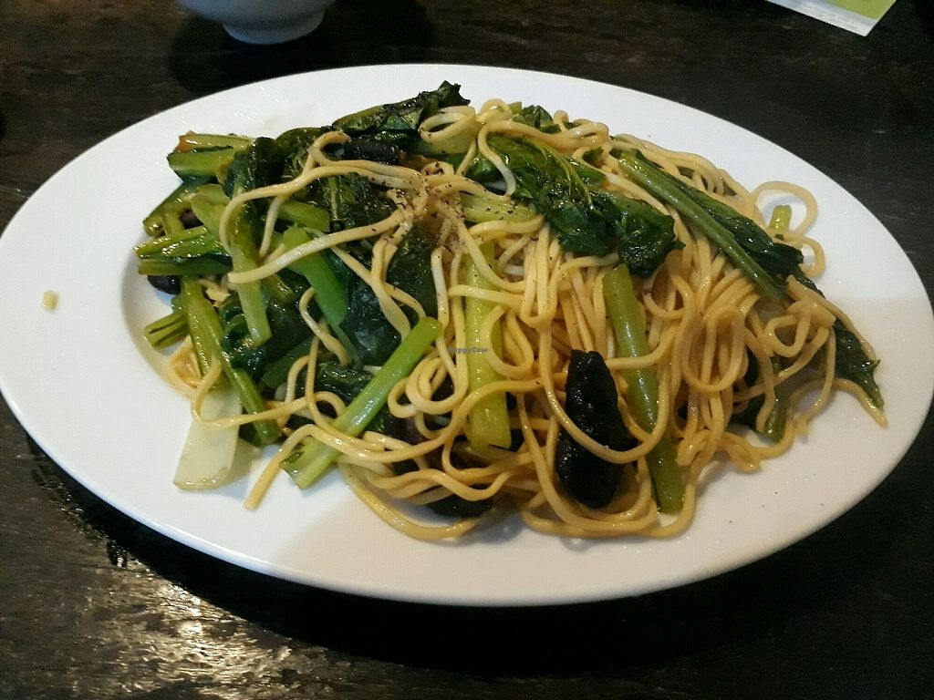 "Photo of Saigon Vegan - Vo Van Tan  by <a href=""/members/profile/LilacHippy"">LilacHippy</a> <br/>Sauteed noodles with mushrooms <br/> December 30, 2017  - <a href='/contact/abuse/image/23813/340822'>Report</a>"