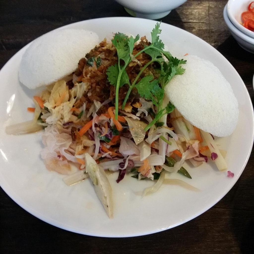 "Photo of Saigon Vegan - Vo Van Tan  by <a href=""/members/profile/Jeane"">Jeane</a> <br/>Goi ngo sen (lotus root salad, 50.000 vnd) <br/> May 27, 2014  - <a href='/contact/abuse/image/23813/70833'>Report</a>"