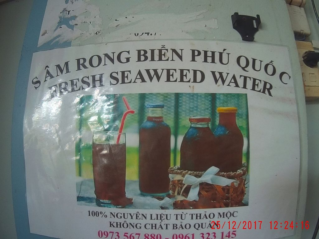 """Photo of Cay Sung  by <a href=""""/members/profile/mfalgas"""">mfalgas</a> <br/>Fresh seaweed water available <br/> December 30, 2017  - <a href='/contact/abuse/image/23834/340764'>Report</a>"""