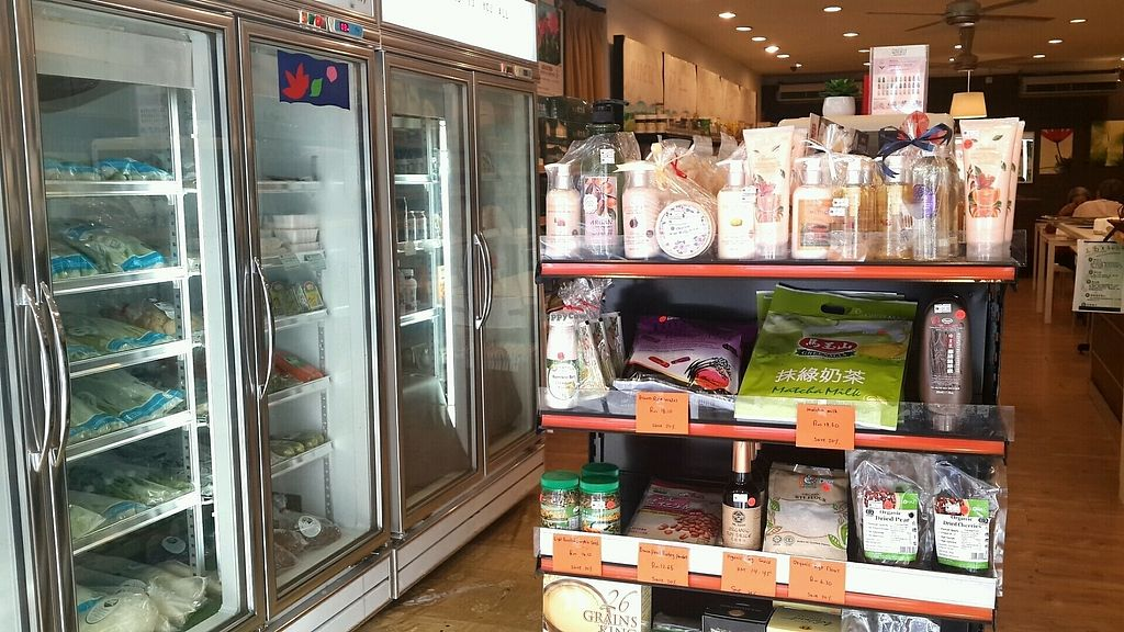 """Photo of Anew Organic Shop  by <a href=""""/members/profile/lotus.light"""">lotus.light</a> <br/>Good variety of vegan products  <br/> January 8, 2018  - <a href='/contact/abuse/image/23847/344407'>Report</a>"""
