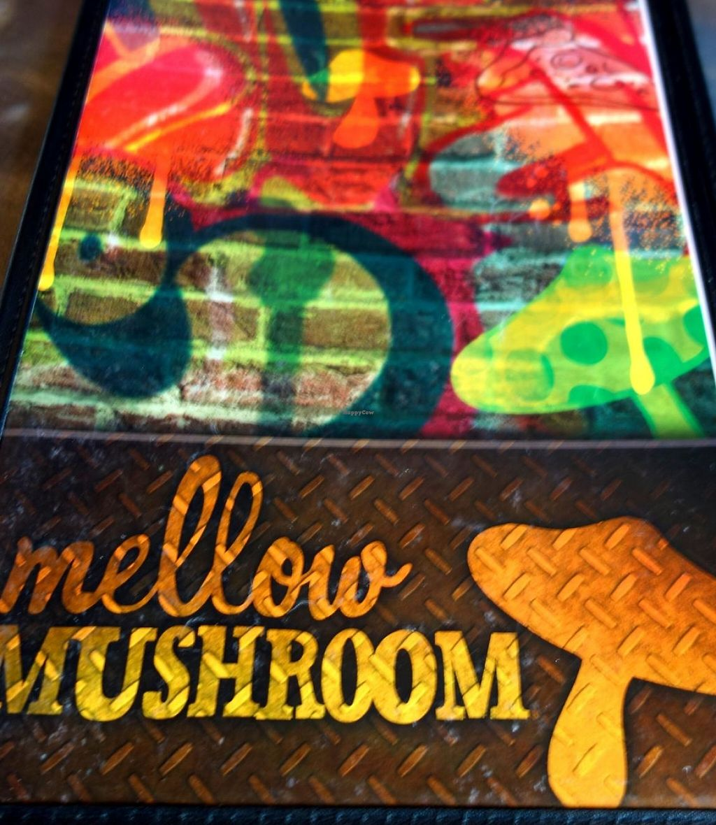 """Photo of Mellow Mushroom  by <a href=""""/members/profile/Gudrun"""">Gudrun</a> <br/>the menu <br/> June 13, 2015  - <a href='/contact/abuse/image/23857/200795'>Report</a>"""