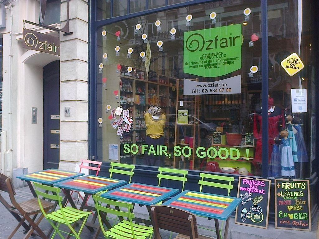 """Photo of Ozfair  by <a href=""""/members/profile/papanda"""">papanda</a> <br/>The outside of Ozfair restaurant/fairtrade shop <br/> March 19, 2014  - <a href='/contact/abuse/image/23888/66165'>Report</a>"""