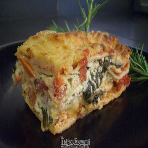 """Photo of CLOSED: Thrive Cafe  by <a href=""""/members/profile/ThriveCafeSavannah"""">ThriveCafeSavannah</a> <br/>Local Roasted Vegetable Lasagna <br/> May 30, 2011  - <a href='/contact/abuse/image/23895/8851'>Report</a>"""
