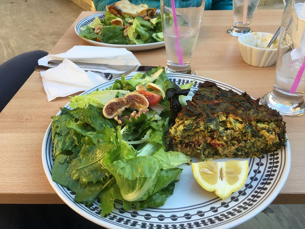 "Photo of Inga's Veggie Heaven  by <a href=""/members/profile/GeorgeBenGal"">GeorgeBenGal</a> <br/>The frittata  <br/> January 13, 2018  - <a href='/contact/abuse/image/23901/346145'>Report</a>"