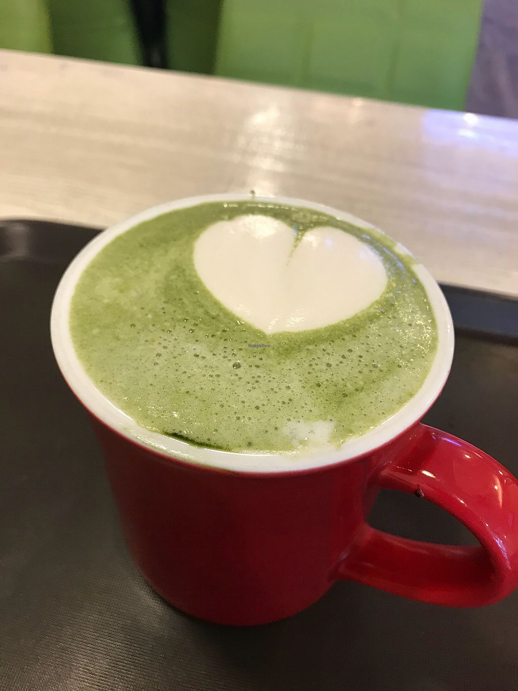 "Photo of Loving Hut Gangnam-gu - 러빙헛  by <a href=""/members/profile/JeanTay"">JeanTay</a> <br/>Awesome green tea latte!  <br/> April 23, 2018  - <a href='/contact/abuse/image/23907/389712'>Report</a>"