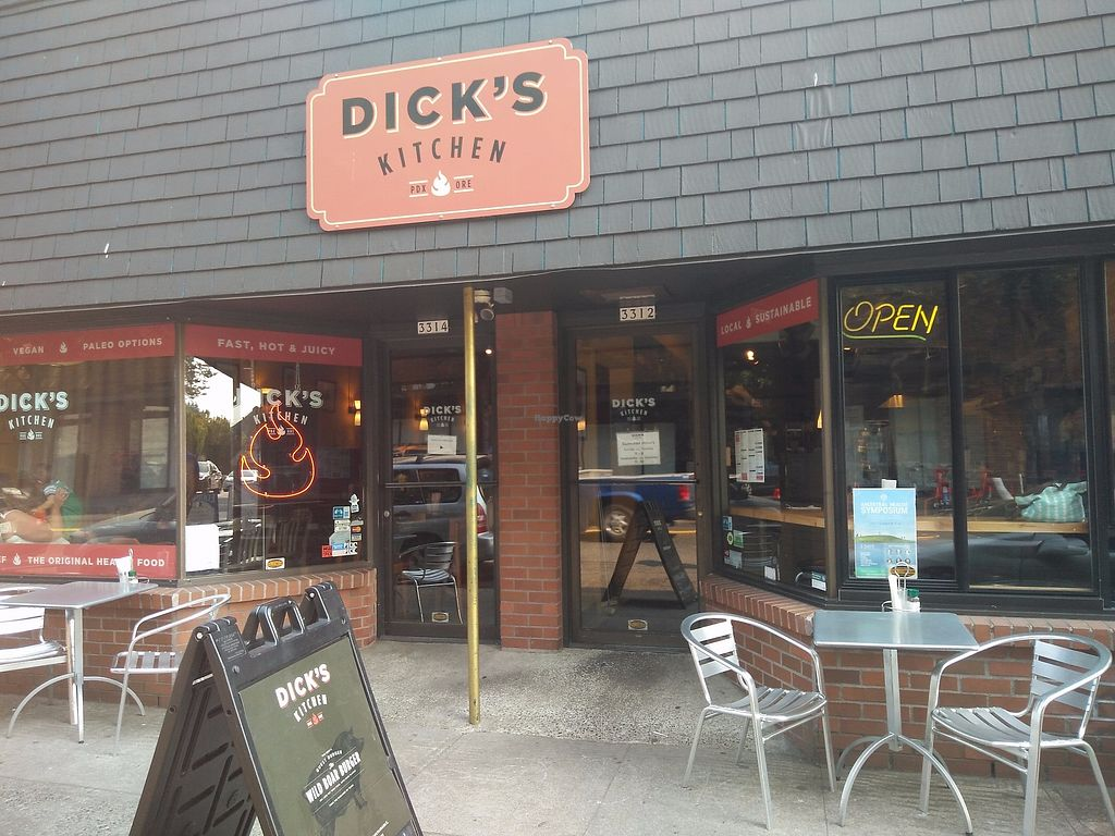 """Photo of Dick's Kitchen  by <a href=""""/members/profile/martinicontomate"""">martinicontomate</a> <br/>street view <br/> September 16, 2017  - <a href='/contact/abuse/image/23930/305063'>Report</a>"""