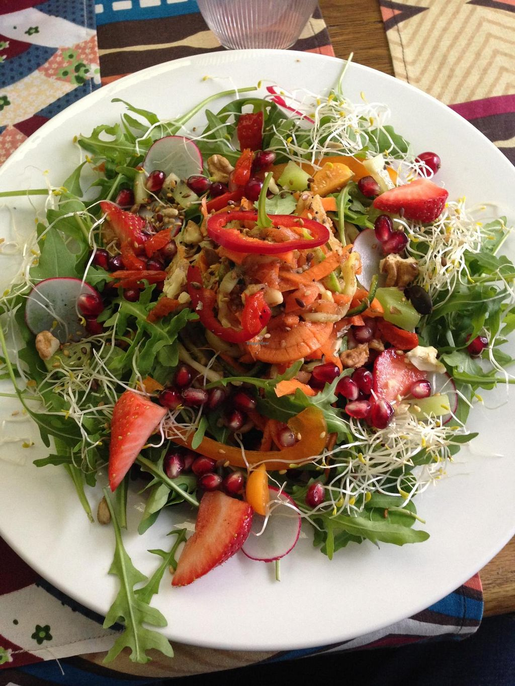 """Photo of Izibiliboco  by <a href=""""/members/profile/DavidLoos"""">DavidLoos</a> <br/>nice raw vegan dish (watch out viniger) <br/> May 10, 2014  - <a href='/contact/abuse/image/23931/69758'>Report</a>"""
