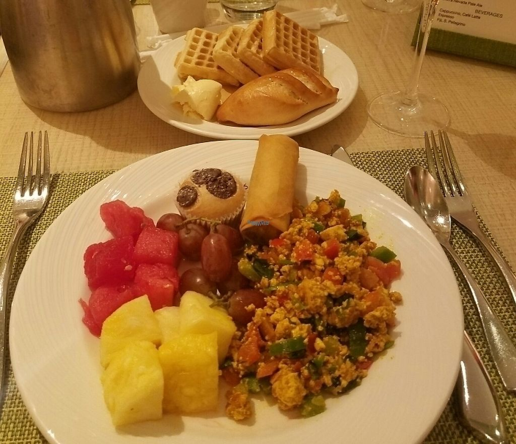 "Photo of Wynn Hotel - Casino Buffet  by <a href=""/members/profile/DeeRod13"">DeeRod13</a> <br/>Vegan in Vegas at the Wynn <br/> October 27, 2016  - <a href='/contact/abuse/image/23934/207731'>Report</a>"