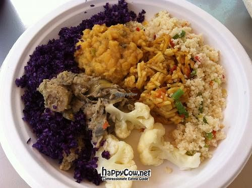 """Photo of The Food of 7 Vegan  by <a href=""""/members/profile/Meowmeow"""">Meowmeow</a> <br/>Plate of food. I think it was something like 15EC <br/> July 14, 2012  - <a href='/contact/abuse/image/23939/34427'>Report</a>"""