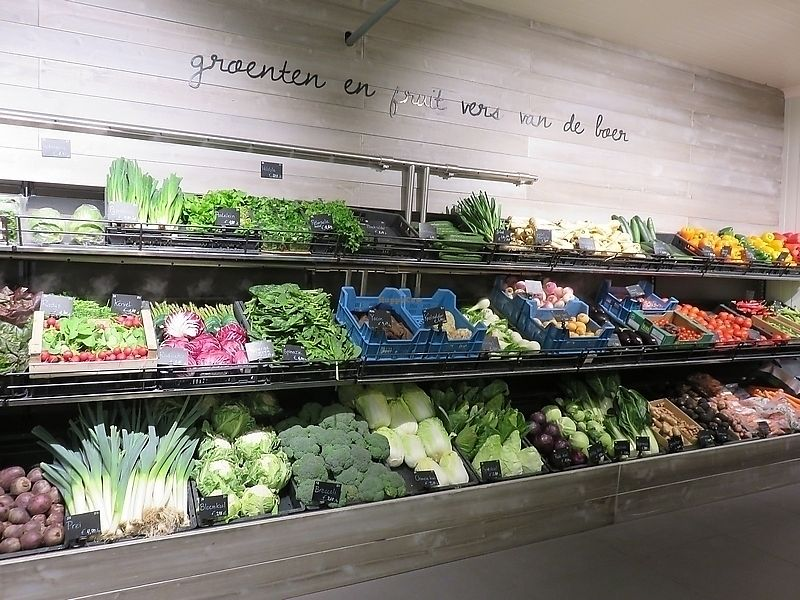 """Photo of Origin'O  by <a href=""""/members/profile/TrudiBruges"""">TrudiBruges</a> <br/>Part of veg section at Origin'O Leuven  <br/> September 25, 2017  - <a href='/contact/abuse/image/23946/308159'>Report</a>"""