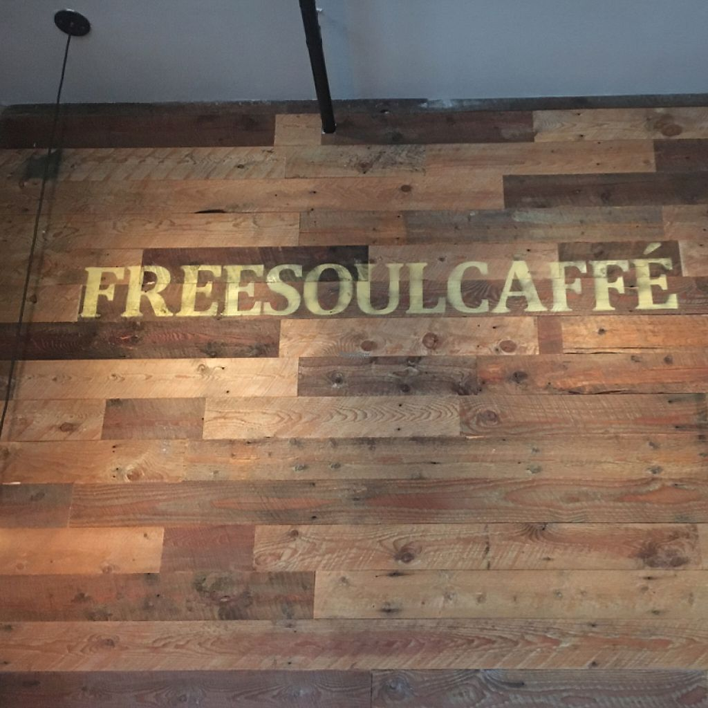 "Photo of Freesoulcaffe  by <a href=""/members/profile/Zombiecynthia"">Zombiecynthia</a> <br/>interior of FreeSoulCaffé <br/> February 11, 2017  - <a href='/contact/abuse/image/23953/225362'>Report</a>"