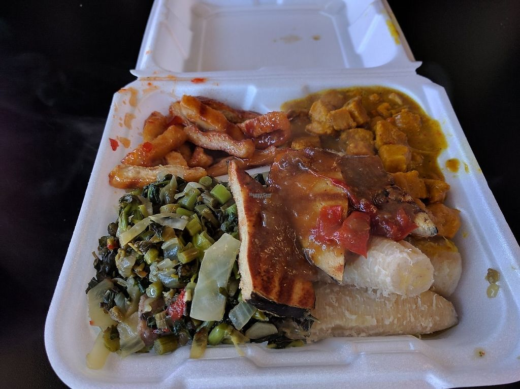 """Photo of Vegetarian Delight  by <a href=""""/members/profile/Sonja%20and%20Dirk"""">Sonja and Dirk</a> <br/>combo plate <br/> November 27, 2016  - <a href='/contact/abuse/image/23966/194916'>Report</a>"""