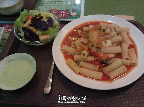 """Photo of Joy-Veggie - Jhongshan  by <a href=""""/members/profile/eric"""">eric</a> <br/>Pasta set meal <br/> May 6, 2012  - <a href='/contact/abuse/image/24035/31553'>Report</a>"""