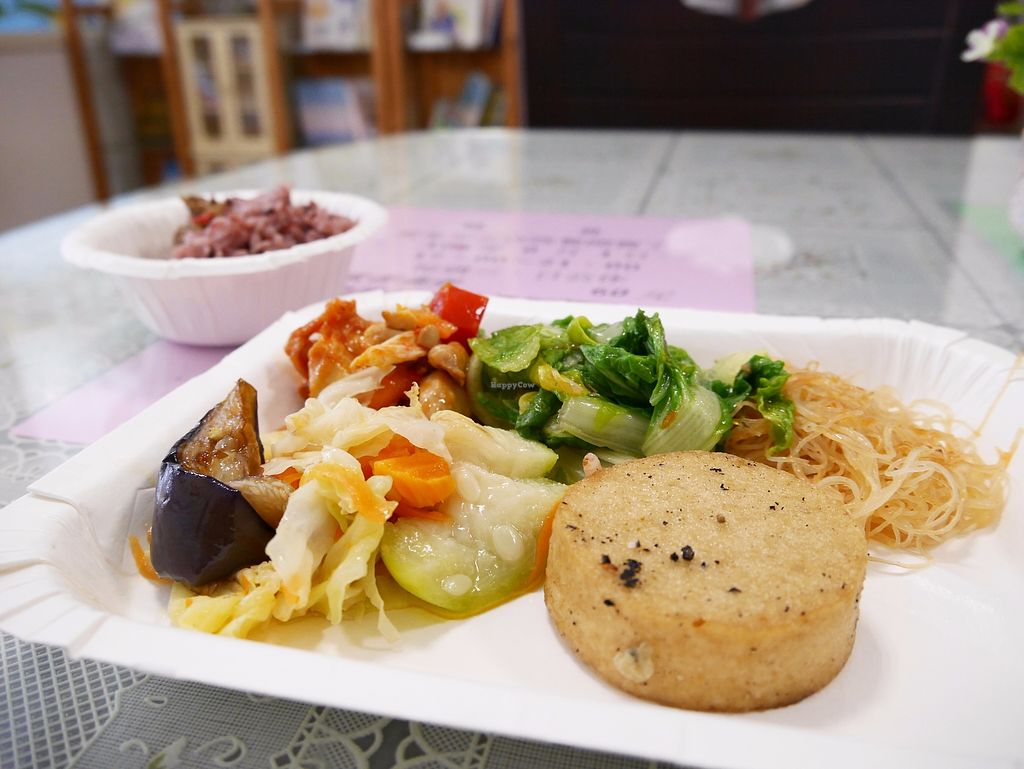 "Photo of Loving Hut - Huanbei Rd  by <a href=""/members/profile/TacoChang"">TacoChang</a> <br/>simply vegan buffet <br/> November 9, 2017  - <a href='/contact/abuse/image/24041/323484'>Report</a>"