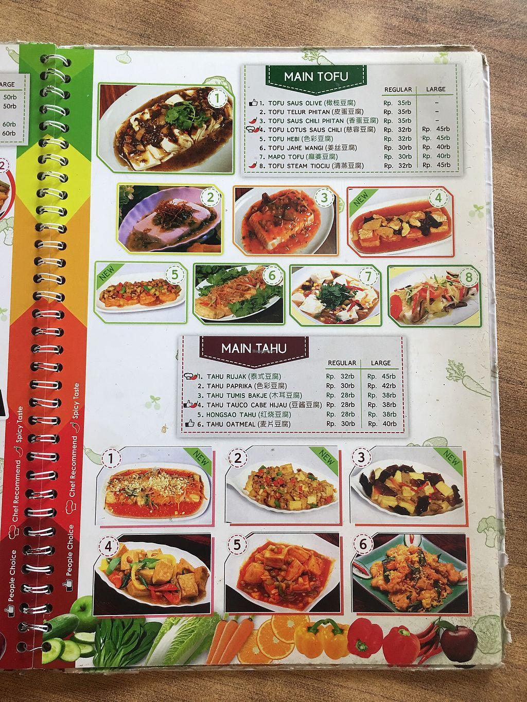 "Photo of Nature Vegetarian Restaurant  by <a href=""/members/profile/BernardKoh"">BernardKoh</a> <br/>Menu <br/> February 26, 2018  - <a href='/contact/abuse/image/24050/363887'>Report</a>"