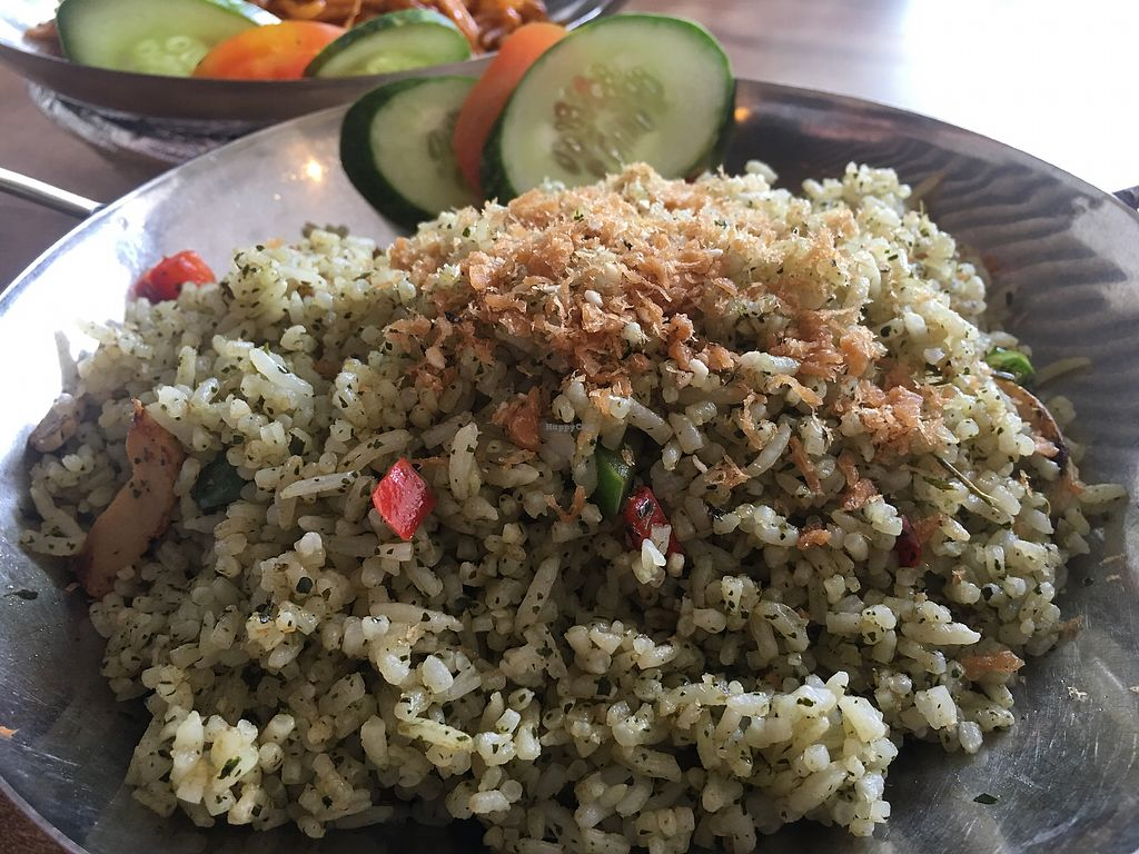 """Photo of Nature Vegetarian Restaurant  by <a href=""""/members/profile/BernardKoh"""">BernardKoh</a> <br/>Olive Fried Rice <br/> February 26, 2018  - <a href='/contact/abuse/image/24050/363890'>Report</a>"""