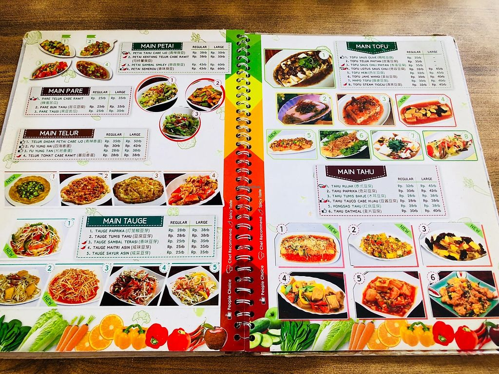 """Photo of Nature Vegetarian Restaurant  by <a href=""""/members/profile/CherylQuincy"""">CherylQuincy</a> <br/>Menu <br/> February 27, 2018  - <a href='/contact/abuse/image/24050/364345'>Report</a>"""