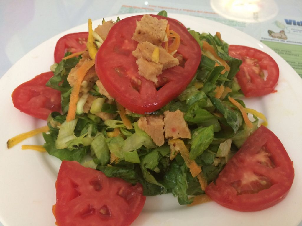 """Photo of Loving Hut  by <a href=""""/members/profile/Siup"""">Siup</a> <br/>vegan ham salad  <br/> March 1, 2016  - <a href='/contact/abuse/image/24077/138365'>Report</a>"""