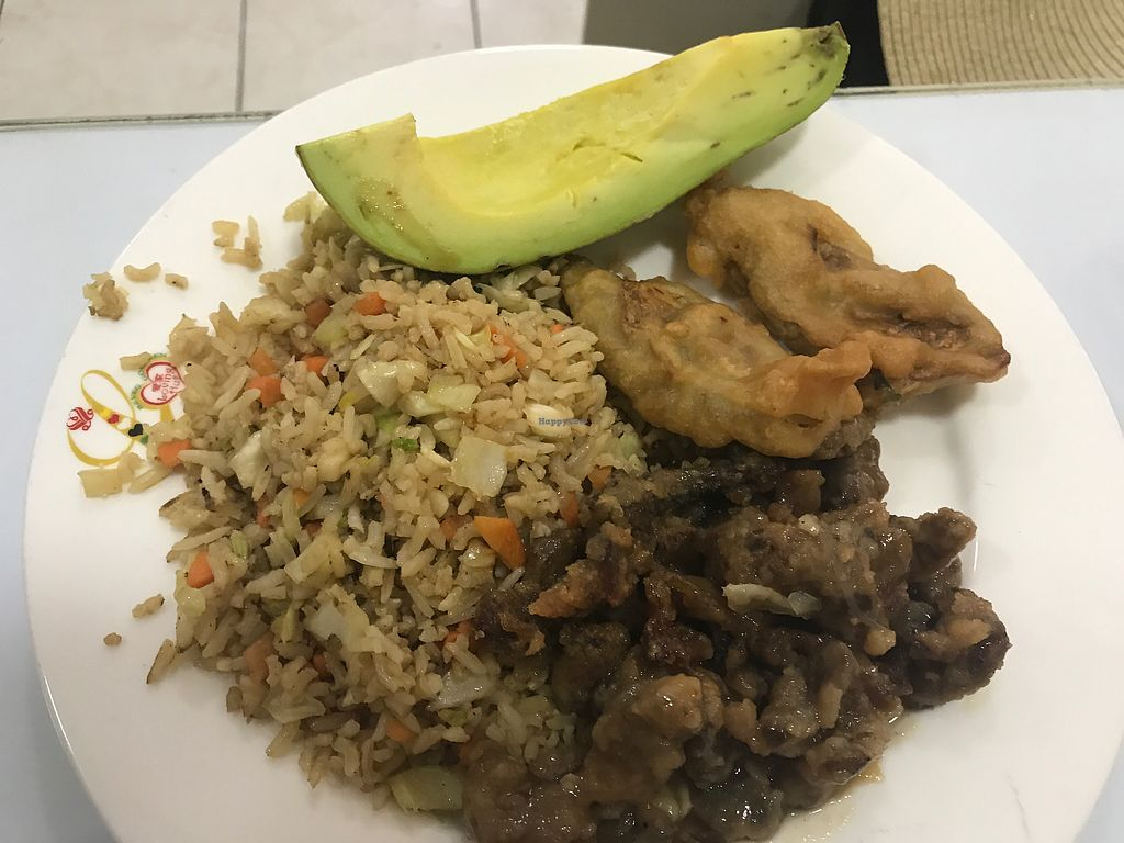"""Photo of Loving Hut  by <a href=""""/members/profile/GaryBartlett"""">GaryBartlett</a> <br/>Buffet food <br/> March 31, 2018  - <a href='/contact/abuse/image/24077/378903'>Report</a>"""