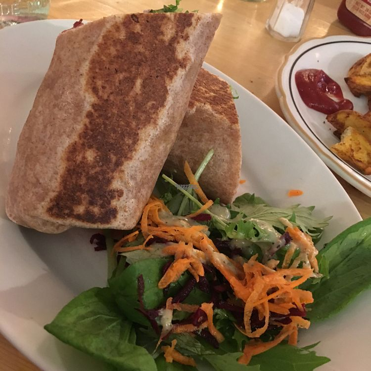 """Photo of Local Sprouts Cafe  by <a href=""""/members/profile/NathanOriol"""">NathanOriol</a> <br/>Miso Tempeh Wrap <br/> September 23, 2016  - <a href='/contact/abuse/image/24091/177643'>Report</a>"""