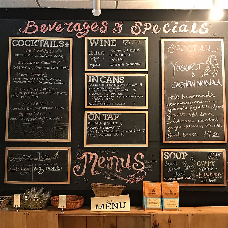 """Photo of Local Sprouts Cafe  by <a href=""""/members/profile/Sarah%20P"""">Sarah P</a> <br/>specials board <br/> June 15, 2017  - <a href='/contact/abuse/image/24091/269570'>Report</a>"""