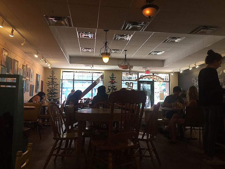 """Photo of Local Sprouts Cafe  by <a href=""""/members/profile/Bgeezy"""">Bgeezy</a> <br/>seating <br/> July 19, 2017  - <a href='/contact/abuse/image/24091/282164'>Report</a>"""