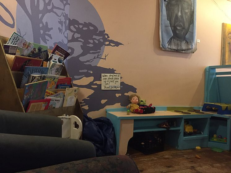 """Photo of Local Sprouts Cafe  by <a href=""""/members/profile/Bgeezy"""">Bgeezy</a> <br/>kid play area <br/> July 19, 2017  - <a href='/contact/abuse/image/24091/282166'>Report</a>"""