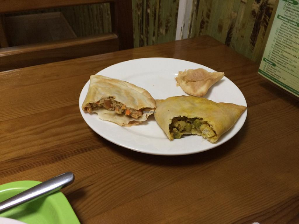 """Photo of Eco Buffet - Moskovs'kyi  by <a href=""""/members/profile/tcascade"""">tcascade</a> <br/>oil inside bread <br/> May 8, 2015  - <a href='/contact/abuse/image/24102/101632'>Report</a>"""